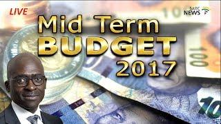 Malusi Gigaba delivers medium-term budget 2017