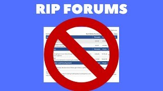 Forums offcially getting removed from Roblox