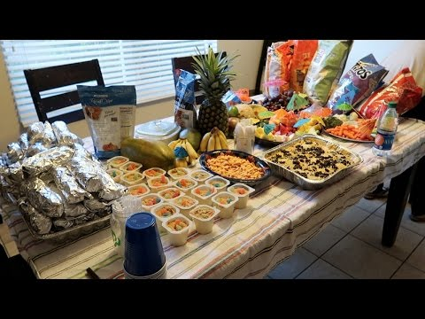 Vlog: *March 18, 2017* ~A Hawaiian Party!~