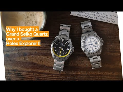 Why I Bought A Grand Seiko Quartz Over A Rolex Explorer II