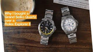Why I bought a Grand Seiko Quartz over a Rolex Explorer II