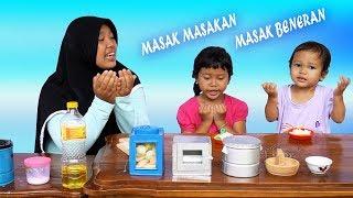 DRAMA Mainan MASAK MASAKKAN Masak Beneran Feat Mainan Anak K...