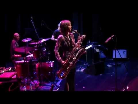 Céline Bonacina, Baritone Sax, from Bach to Be-Bop, Classical to Jazz, Trio, live in Germany, 2011