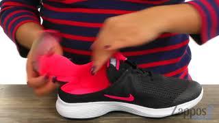 8b04f88800e9 Nike Kids Revolution 4 Flyease Wide (Little Kid Big Kid) SKU  9005307