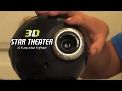 3d Star Theater 3d Planetarium Projector Youtube