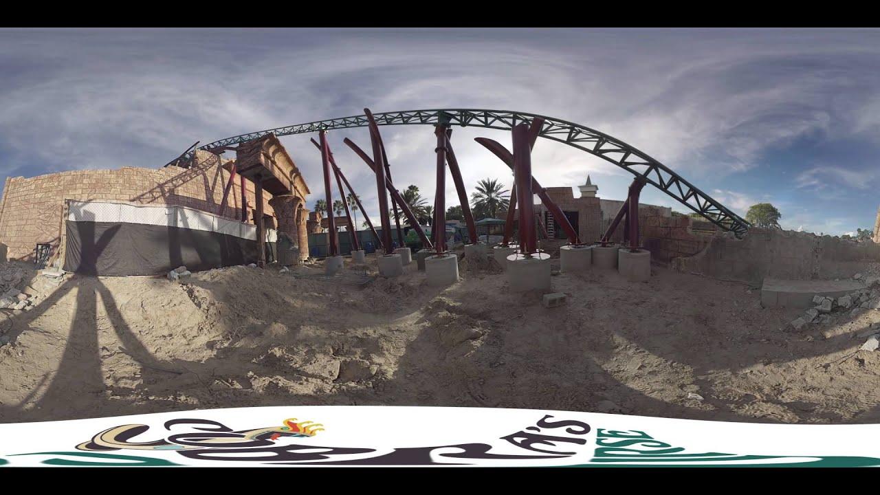 Cobra 39 S Curse Take A 360 Degree Look Busch Gardens Tampa Bay Youtube