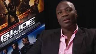 GI Joe  Adewale Akinnuoye-Agbaje  Exclusive Interview