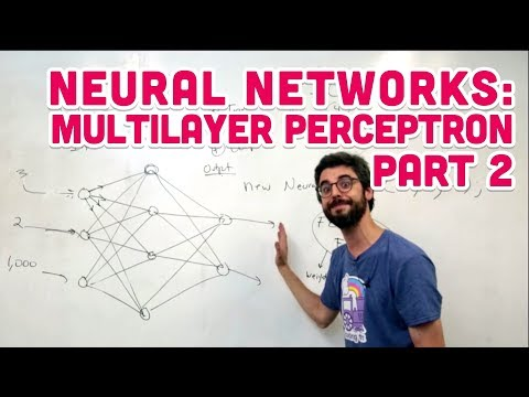 10.5: Neural Networks: Multilayer Perceptron Part 2 - The Nature of Code