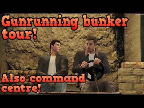 GTA Online Gunrunning bunker & Mobile command center tour!