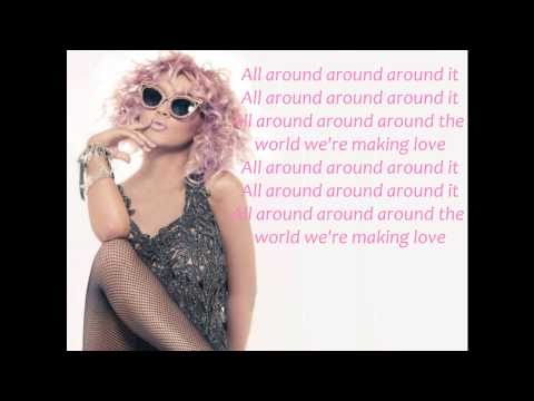 Christina Aguilera - Around The World Lyric Video
