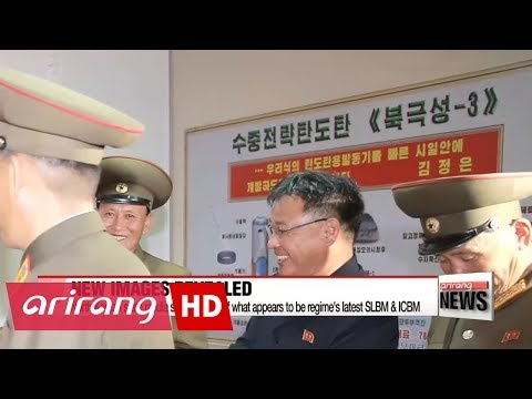 North Korean state media shows photo of what appears to be regime's latest SLBM & ICBM