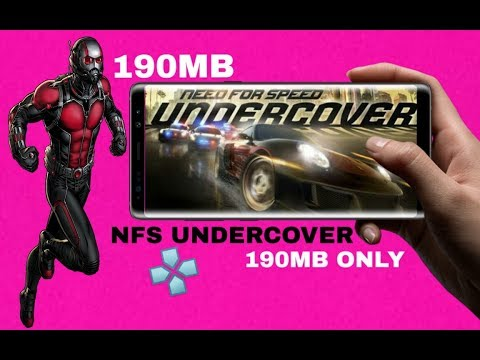 190MB Dounload NFS UNDERCOVER Highly Compressed Game For Android Psp 2020 Offline New PPSSPP