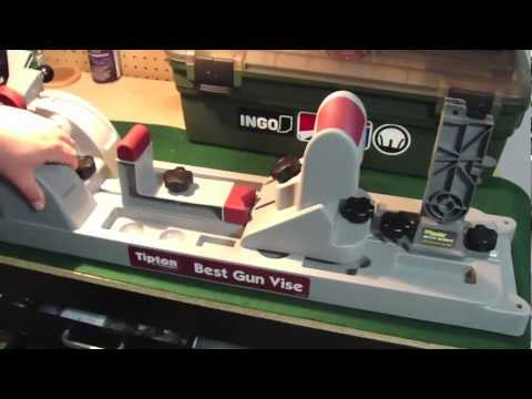 Tipton Best Gun Vise Amp Wheeler Delta Series Ar Block Youtube