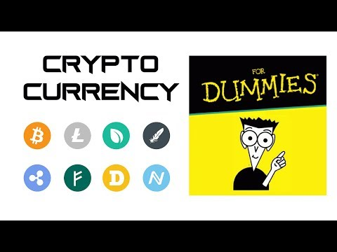 Cryptocurrency For Dummies Bitcoin Blockchain Ethereum ETH BTC