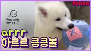 아홉 강아지 토이 리뷰 아르르 킁킁볼 - Nine puppies, Toy Review Arr Zambol