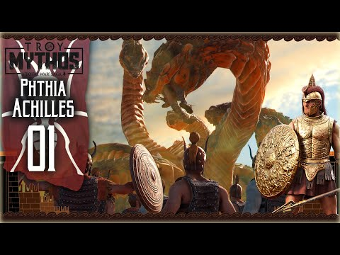 Download [1] Achilles the Legendary Warrior of Phthia | Total War Saga Troy Achilles Mythological Campaign