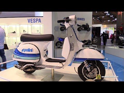 2018 Polini Vespa 125 PX - Walkaround - 2017 EICMA Milan