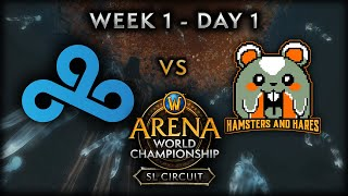Cloud9 vs Hamsters & Hares | Week 1 - Day 1 | AWC SL Circuit