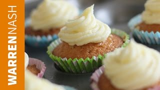 Lemon Cupcakes - With Lemon Curd Filling - Recipes By Warren Nash