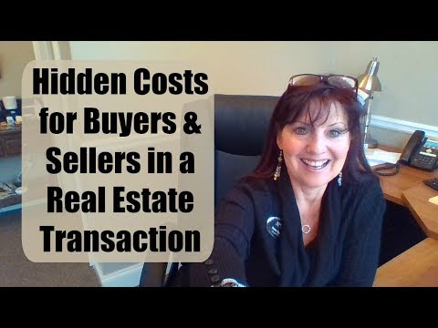 Hidden Costs in Selling or Buying Real Estate
