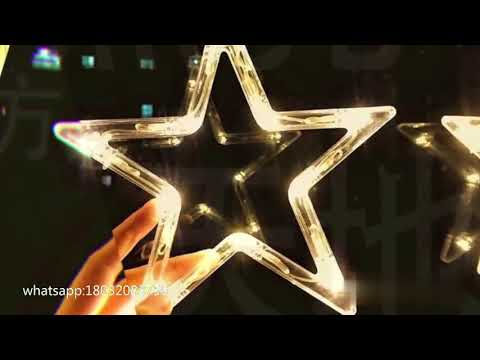 Christmas LED Decoration star string lights