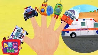 Finger Family - Vehicles 2 | Nursery Rhymes & Kids Songs - ABCkidTV