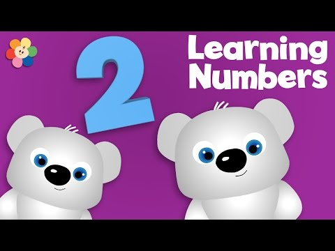 Learning Numbers for Kids | Numbers Around the Globe - The Number 2