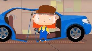 Мультфильм про машинки   - Лимузин - мультфильм для детей