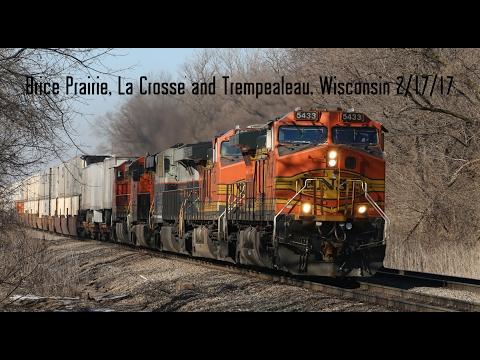 Brice Prairie, La Crosse and Trempealeau, Wisconsin 2/17/17