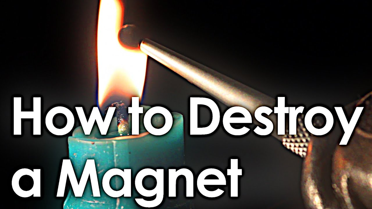 How to destroy a magnet interactive periodic table youtube urtaz Image collections