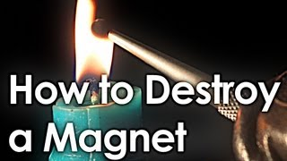 How to Destroy a Magnet (+ interactive periodic table)
