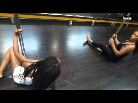 TwelveTen360: Onyx (Pole Dance Instructor) Secret Pole Dance Studio