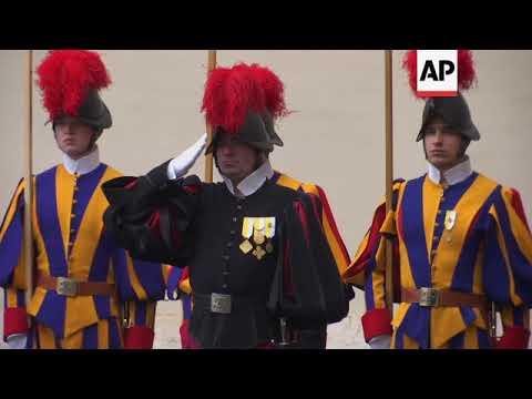 Turkish president arrives at Vatican for talks with Pope