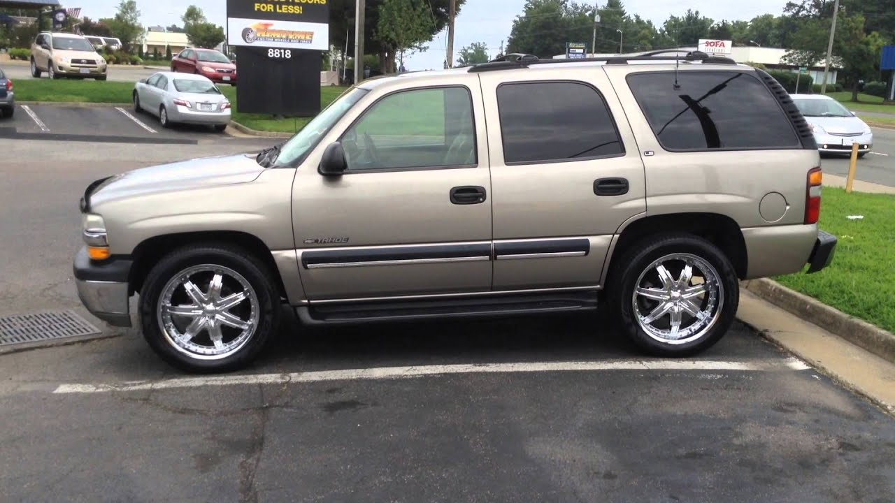 2001 Chevy Tahoe On 22 Quot Divinity D700 Rims With 305 45 22