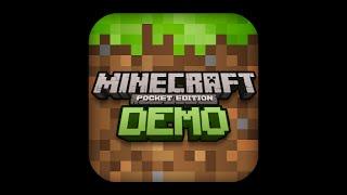 Minecraft PE demo GamePlay