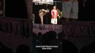 ludruk budhi Wijaya live laban wetan
