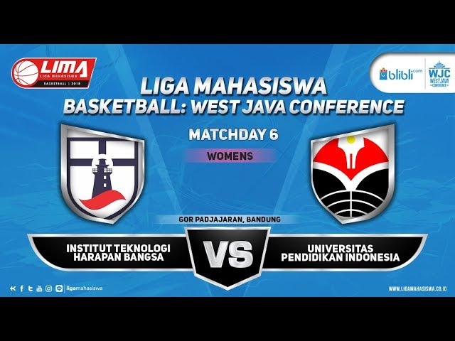 WOMEN'S ITHB VS UPI LIMA BASKETBALL: BLIBLI.COM WJC 2018