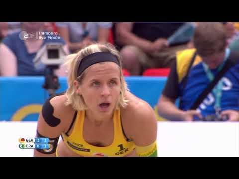 Hamburg 2017 World Tour Finals Women's Gold Medal Match   Beach Volleyball Shorts