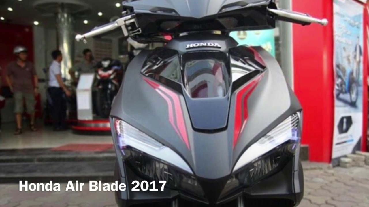 honda air blade 2017 - youtube