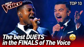 SPECTACULAR DUETS in the Finals of The Voice | TOP 10