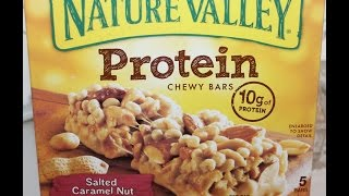 Nature Valley Protein Salted Caramel Nut Bar Review