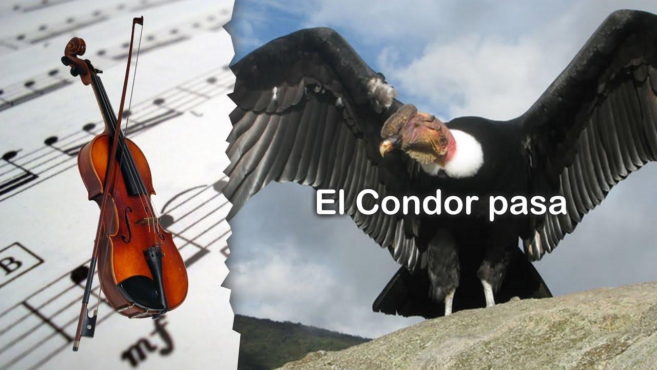 Partitura El Condor Pasa Versión Dos Violín Youtube