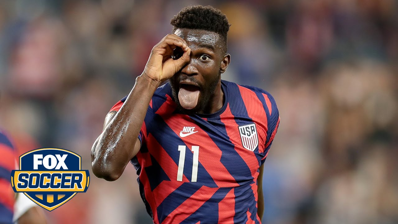 Download Maurice Edu, Alexi Lalas react to USMNT, Daryl Dike's performance vs. Martinique   2021 Gold Cup