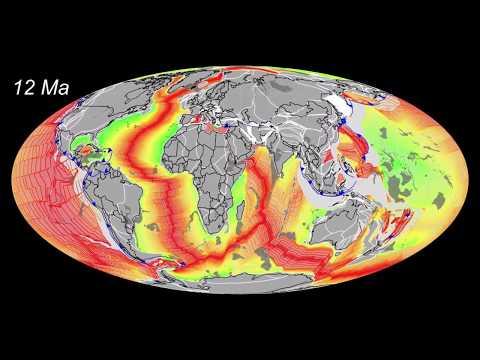 1.5 billion years of Plate Tectonics by C.R. Scotese