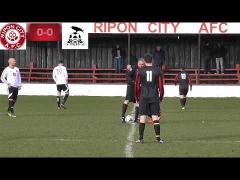 "Ripon City AFC vs Hampsthwaite United FC - ""Amateur Football"" Match Highlights"