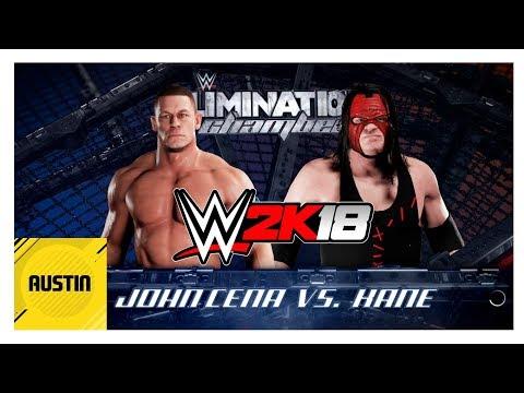 WWE 2K18 Primera Pelea!! [John Cena Vs Kane] | 2018 | Gameplay Español | Austin