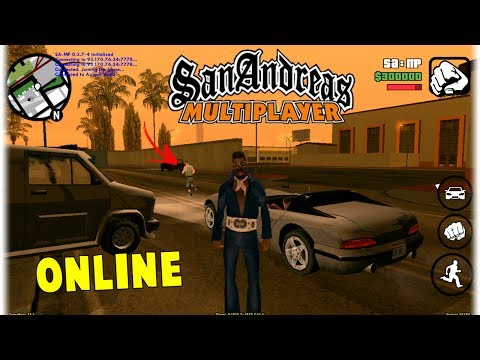 GTA San Andreas Multiplayer (Online) - Android