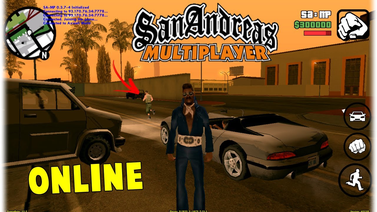 san andreas online