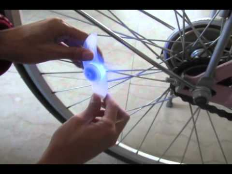 Colorful Bikes Bicycle Cycling Spoke Wire Tire Tyre Wheel LED Bright Light LampK