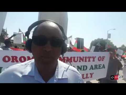 OromoProtest LosAngeles